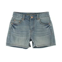 American Rag Womens Juniors Whisker Wash Mid-Rise Casual Shorts
