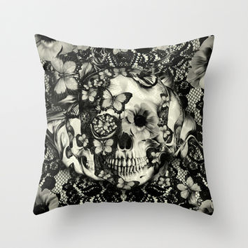 Victorian Gothic Throw Pillow by Kristy Patterson Design