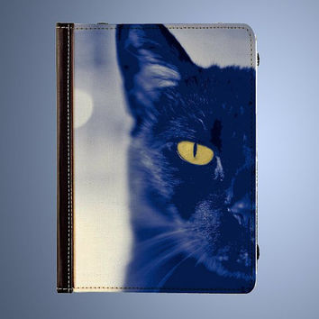 The Myterious Cat Kindle Fire Folio Case - Kindle Fire HD 7 inch, Kindle Fire HD 8.9 inch