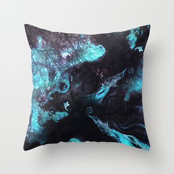 SPIRITS Throw Pillow by Adaralbion
