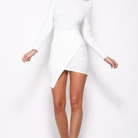 Walk The Plank Dress White