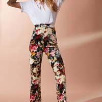 UO Velvet Cropped Kick Flare Pant | Urban Outfitters