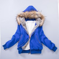 Upgraded  Quality  Jacket  Women  Spring  Winter