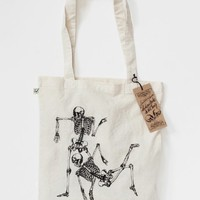 Supermarket: Tote Bag «Skeleton No 1» from Bon Matin