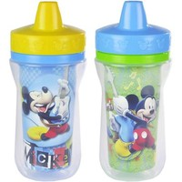 The First Years Disney Baby Mickey Mouse Insulated Sippy Cup (2-pack) - Walmart.com