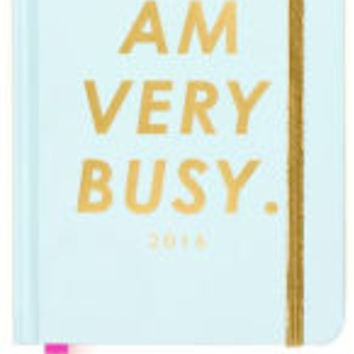 2016 Classic Agenda, I Am Very Busy (Mint) Calendar