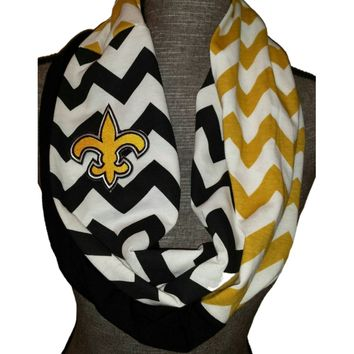 Saints Infinity Scarf