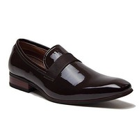 Ferro Aldo Men's 19531P Patent Leather Slip On Tuxedo Dress Shoes Loafers