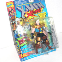 NIB X-Men: X-Force Cable #4 Action Figure, Marvel Comics, 1994 Toy Biz, Antique Alchemy