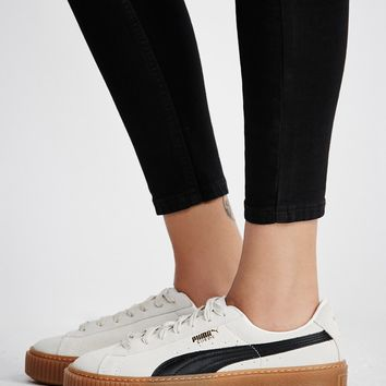 Free People Suede Platform Core Sneakers