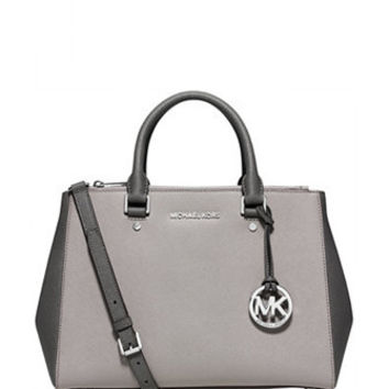 Michael Michael Kors Medium Sutton Colorblock Satchel