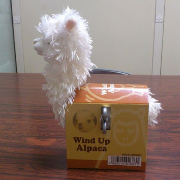 """PacaWindUp"" Wind Up Alpaca Toy"