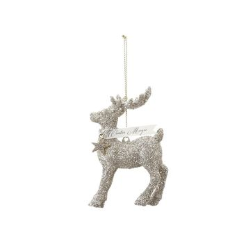 Glittered Reindeer Ornament from A Gilded Life