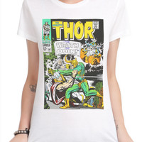 Marvel The Mighty Thor Wrath Of Odin Girls T-Shirt
