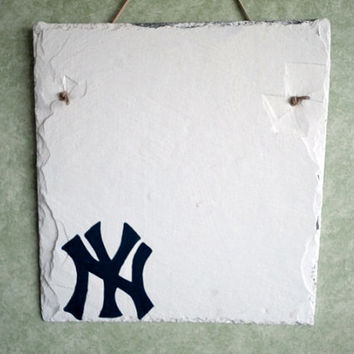 New York Yankees, NY, baseball house sign personalize address name greeting