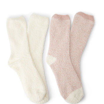 Fuzzy Knit Sock Pack