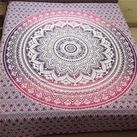 Newest Indian Mandala Tapestry Wall Hanging Printed Beach Throw Towel Yoga Mat Table Cloth Bedding Outlet Home Decor 200x150cm