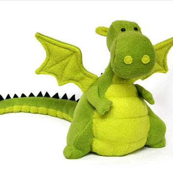 Dragon plush Ready made by DIYFluffies on Etsy