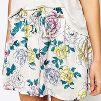 Minkpink Bed Time Blooms Shorts