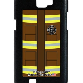 Firefighter Brown AOP Galaxy Note 2 Case All Over Print