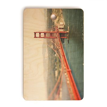 Bree Madden Golden Gate View Cutting Board Rectangle