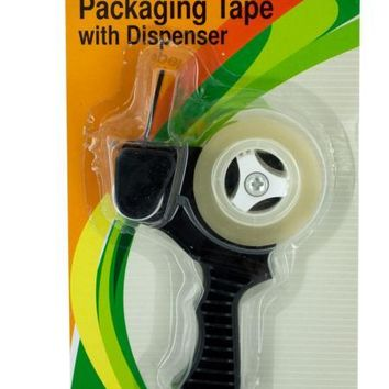Packaging Tape with Refillable Dispenser (Available in a pack of 12)