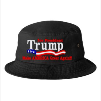Trump for president 2016 - Bucket Hat