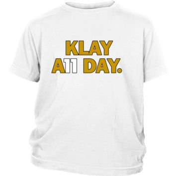 583119158 Klay Thompson Shirt - Golden State Warriors - Klay A11 Day - Dis