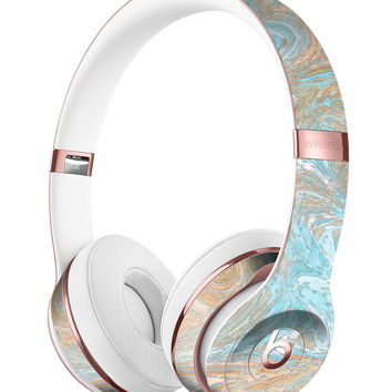 Slate Marble Surface V28 Full-Body Skin Kit for the Beats by Dre Solo 3 Wireless Headphones