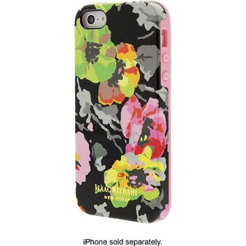 Isaac Mizrahi New York - Waterprint Floral Case for Apple® iPhone® 5 and 5s - Black