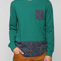 Koto Geo Pocket Long-Sleeve Tee - Urban Outfitters