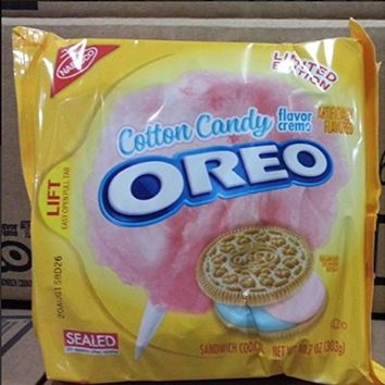 Cotton Candy Oreo's Limited Edition