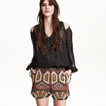 H&M Embroidered Shorts $69.99