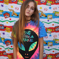 THECOBRASNAKE ALIEN ABDUCTION TIE DYE TEE