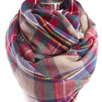 Bundle Me Up Scarf | Camel