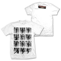 Ministry of Silly Walks Steps White T-Shirt Small
