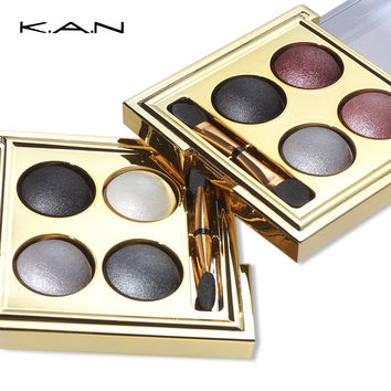 Brand New 4 colors Baking Nude eyeshadow palette makeup matte Eye Shadow palette Make Up urban Glitter eyeshadow