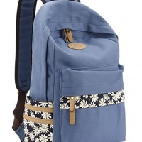 Leaper Casual Style Canvas Laptop Backpack/School Bag/Travel Daypack/Handbag