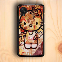 Dream colorful Obey Hello Kitty Nexus 5 Case