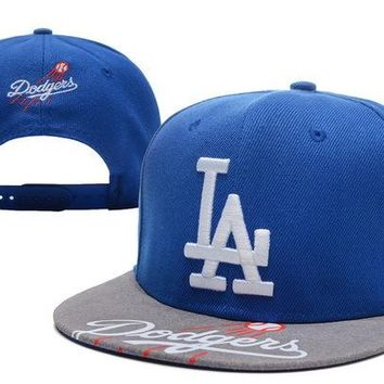 Perfect MLB Los Angeles Dodgers hats Women Men Embroidery Sports Sun Hat Baseball Cap Hat