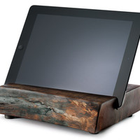 Reclaimed Wood iPad Stand