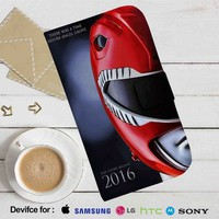 Mighty Morphin Power Ranger 2016 Leather Wallet iPhone 4/4S 5S/C 6/6S Plus 7| Samsung Galaxy S4 S5 S6 S7 NOTE 3 4 5| LG G2 G3 G4| MOTOROLA MOTO X X2 NEXUS 6| SONY Z3 Z4 MINI| HTC ONE X M7 M8 M9 CASE