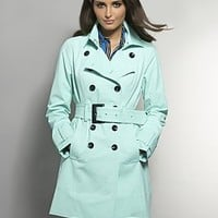 The NY Trench - Banded Hem - New York  & Company
