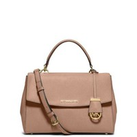 Ava Medium Saffiano Leather Satchel | Michael Kors