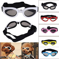 cute Pet Dog UV Sunglasses Sun Glasses Glasses Goggles Eye Wear Protection Fashion = 5660696385