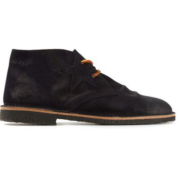 Golden Goose Deluxe Brand star patch desert boots
