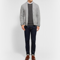 John Smedley - Sherwood Merino Wool and Cashmere-Blend Cardigan | MR PORTER