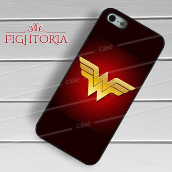 Wonder Woman Logo Red - zZzD for  iPhone 6S case, iPhone 5s case, iPhone 6 case, iPhone 4S, Samsung S6 Edge