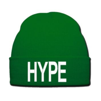 HYPE beanie or SNAPBACK hat