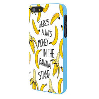 Theres Always Money In The Banana Stand iPhone 5 Case Framed Blue